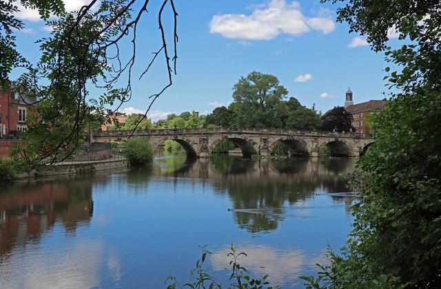 Bridge over the River Severn, Shrewsbury