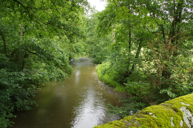 River Lugg from Lyepole Bridge
