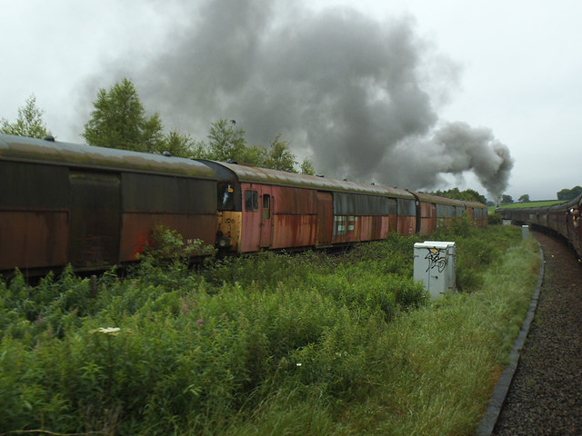 Steaming away from Hellifield