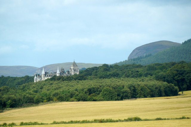 Dunrobin Castle from the east