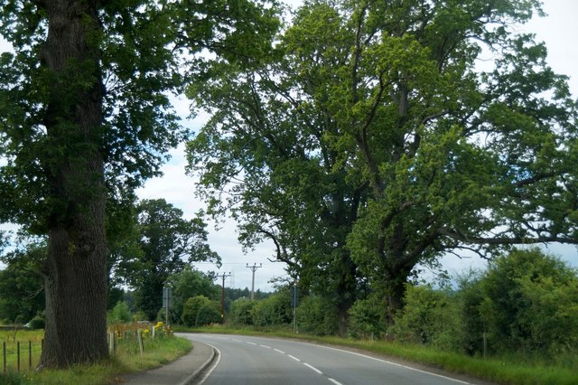 The A862 out of Beauly