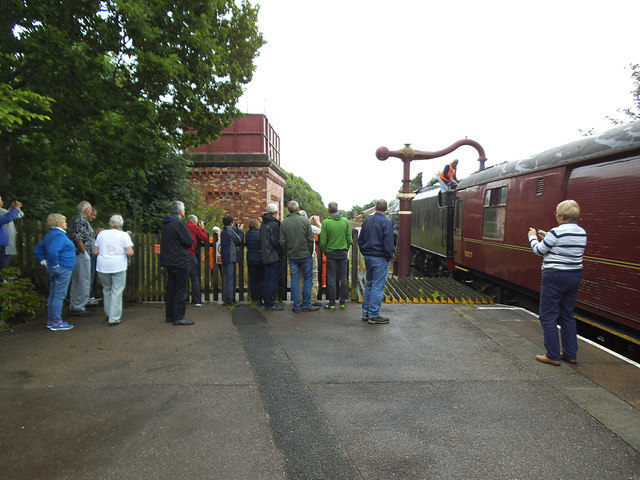 Silver spotters at Appleby