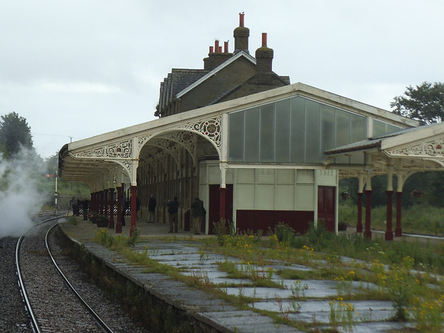 Hellifield station buildings