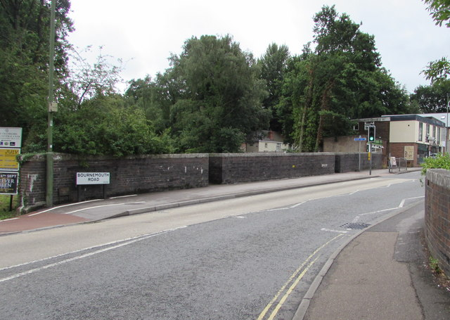Bournemouth Road railway bridge, Chandler's Ford