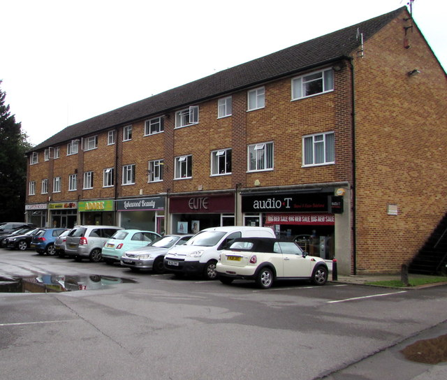 Row of six shops, Hursley Road, Chandler's Ford