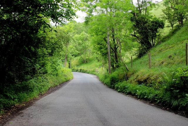 Road through Kirk Dale