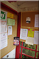 SO3351 : Inside Almeley Information Kiosk by Stephen McKay