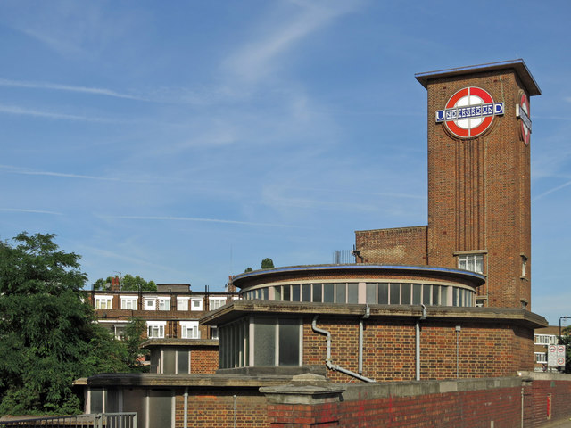 Park Royal tube station, Western Avenue, W5 (3)