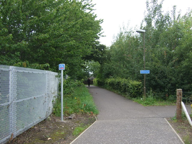 National Cycle Route 1 near Edinburgh College