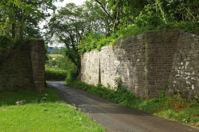 Former railway bridge, Titley Junction