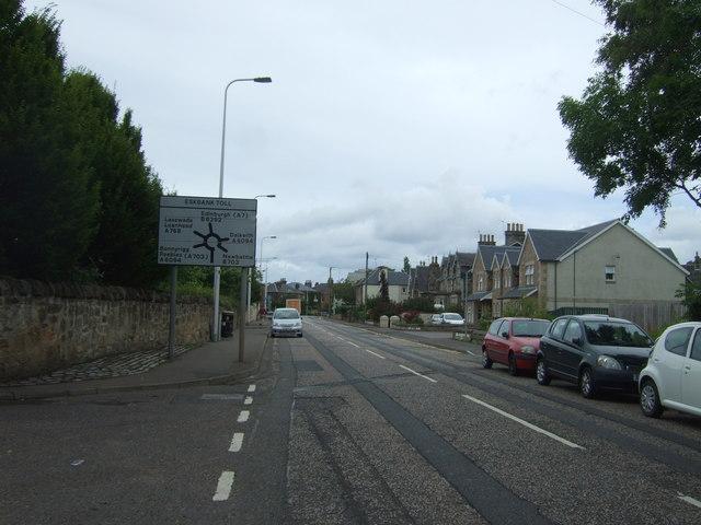 Dalhousie Road, Eskbank (B6392)