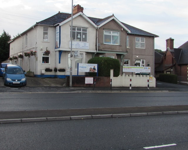 Malpas Road dentists and children's nursery, Malpas, Newport