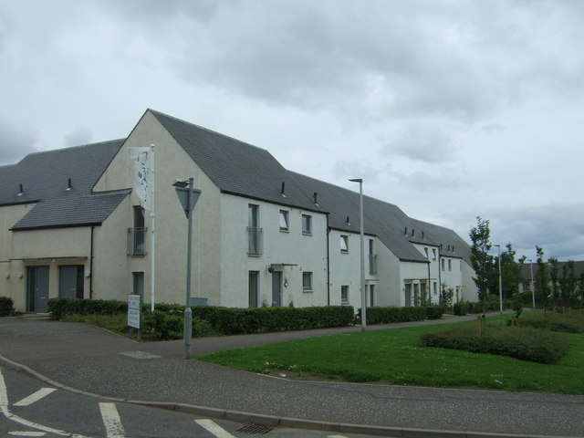Houses off Suttieslea Road, Newtongrange