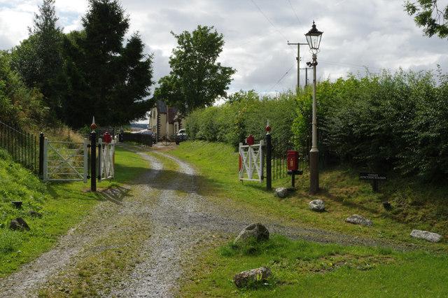Titley Station Entrance