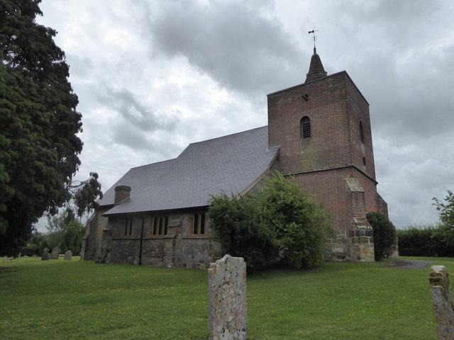 All Saints, Tudeley: churchyard (b)