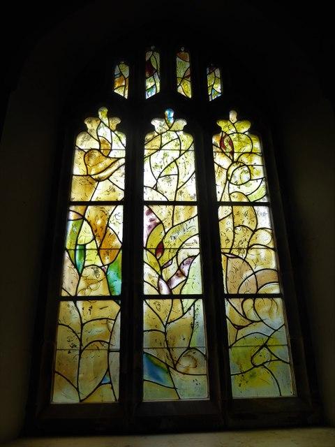 All Saints, Tudeley: Chagall Window (a)