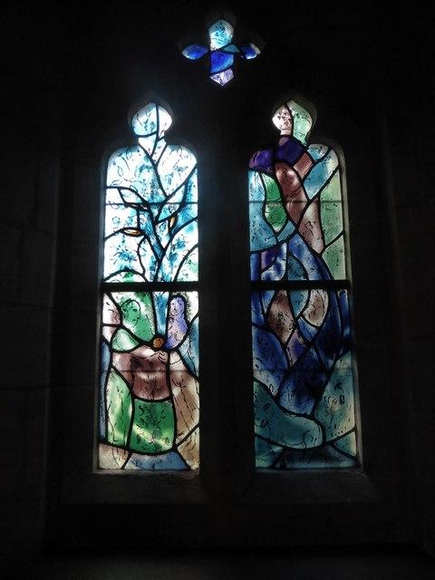 All Saints, Tudeley: Chagall Window (b)