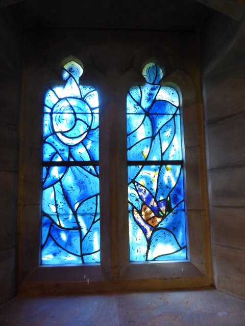 All Saints, Tudeley: Chagall Window (c)