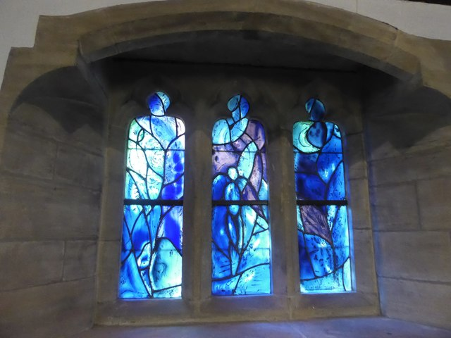 All Saints, Tudeley: Chagall Window (d)