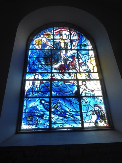 All Saints, Tudeley: Chagall Window (i)