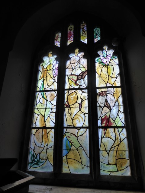 All Saints, Tudeley: Chagall Window (l)