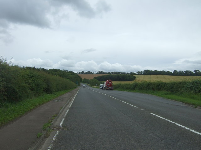 Looking south on the A6106