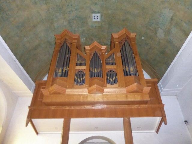 All Saints, Tudeley: organ