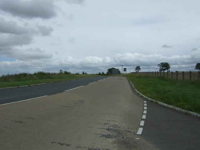 A6106 towards Edinburgh
