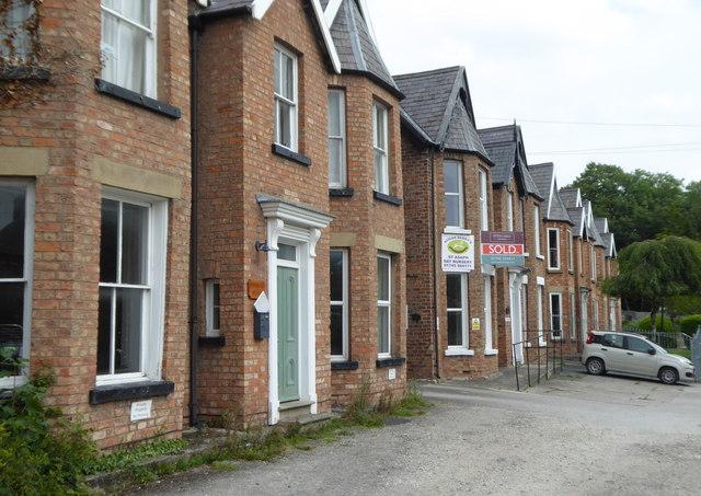 Houses on Chester Street St Asaph