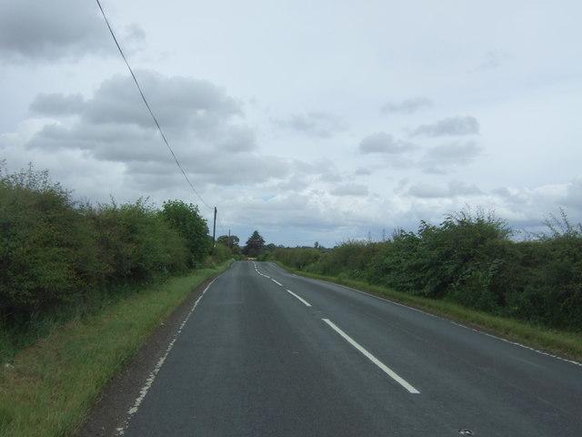 A6093 towards Pencaitland
