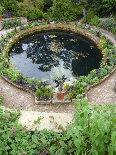 Pond at Bodnant Garden