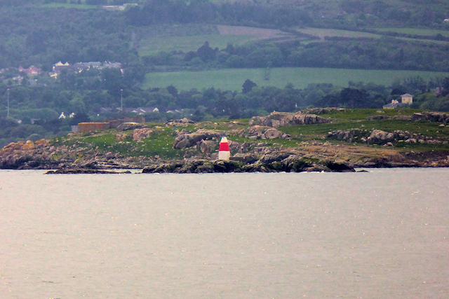 Muglins Lighthouse, Dalkey Island