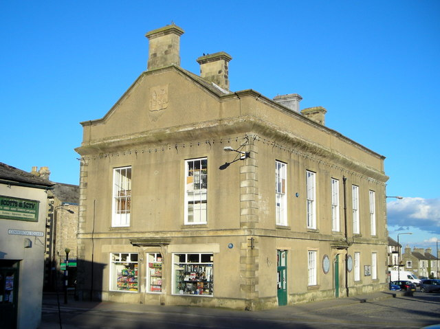 Leyburn's former town hall