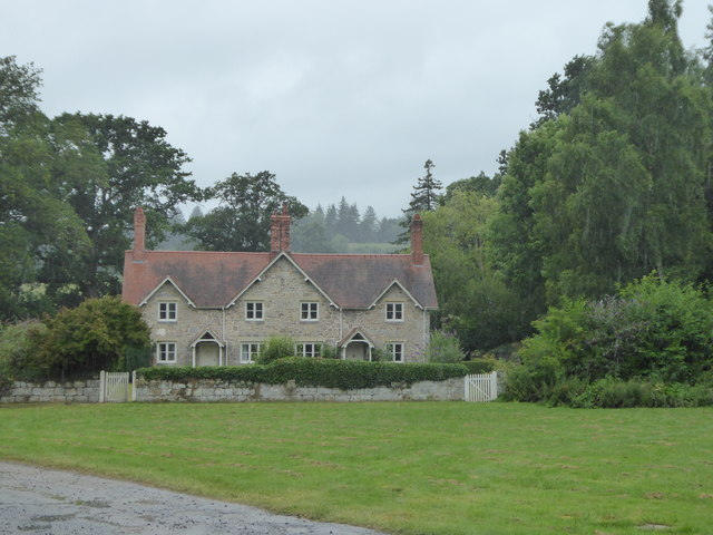 Home Farm Cottages at Chirk Castle