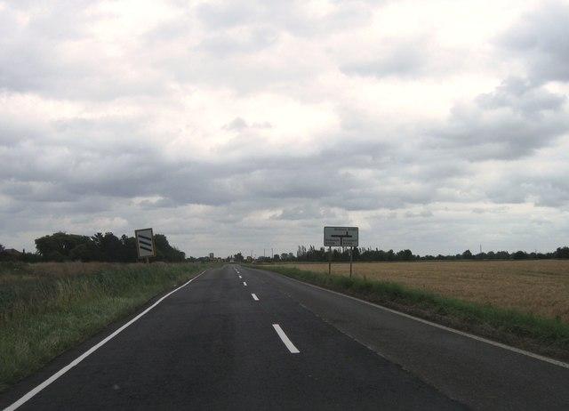 B1165 eastbound