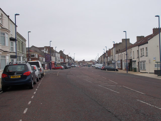 High Street - viewed from Esplanade