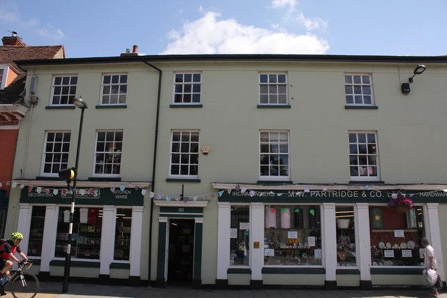 M W Partridge & Co Ltd, 60 High Street, Hadleigh