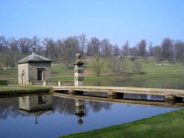 Lake at Studley Royal