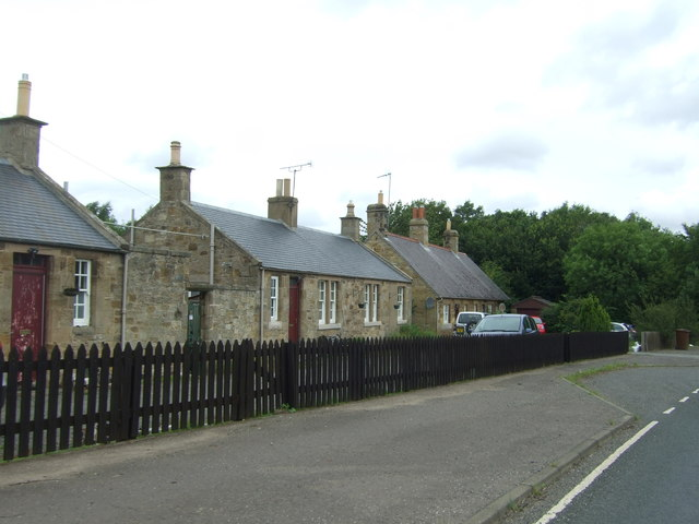 Cottages near Oxenfoord Mains