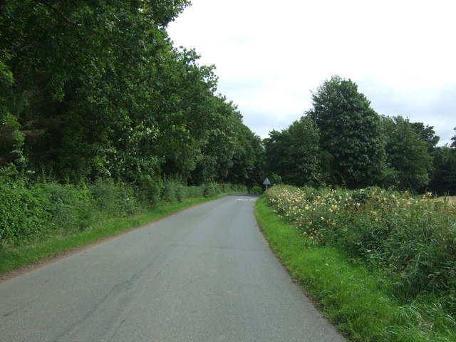 Minor road towards West Saltoun
