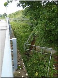 SX9690 : Emergency stairs between M5 and Old Rydon Lane by David Smith