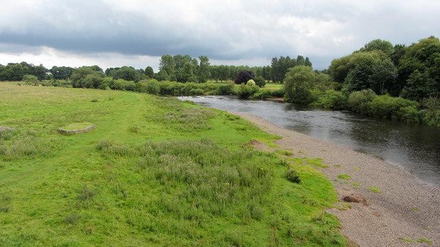 Beside the River Eden in Carlisle