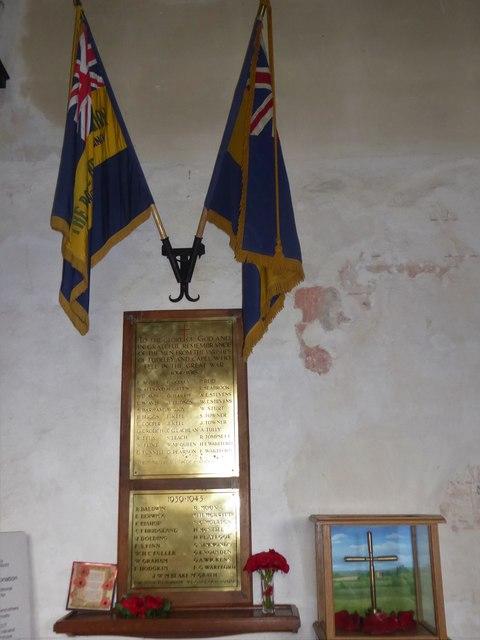 Inside St Thomas à Becket, Capel (i)