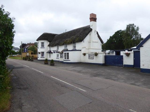 The Blue Ball inn, Clyst Road