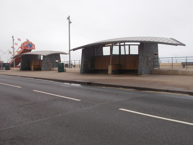 Shelters on the Esplanade