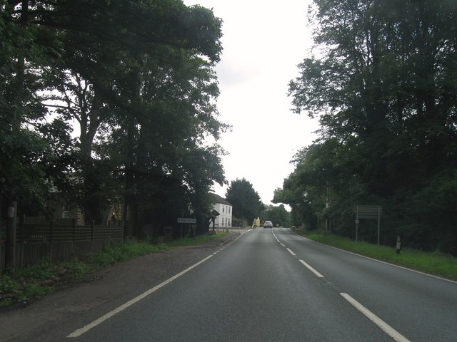 Entrance to Tydd Gote