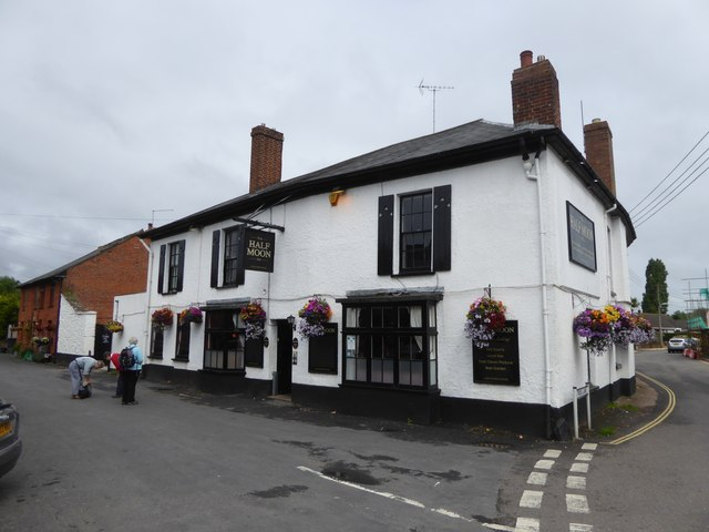 The Half Moon inn, Clyst St Mary