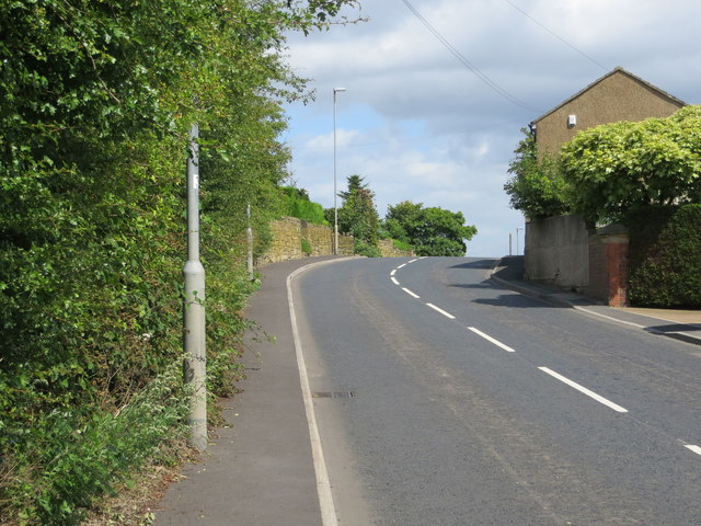 Gildersome Lane near Mooside Villas