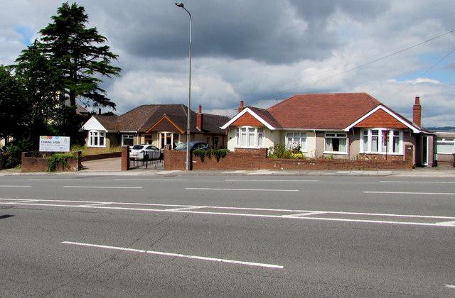 Newport Road bungalows, Rumney, Cardiff