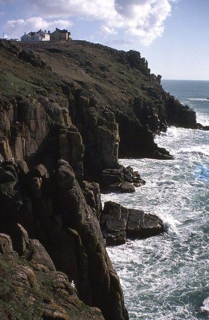Cliffs at Land's End